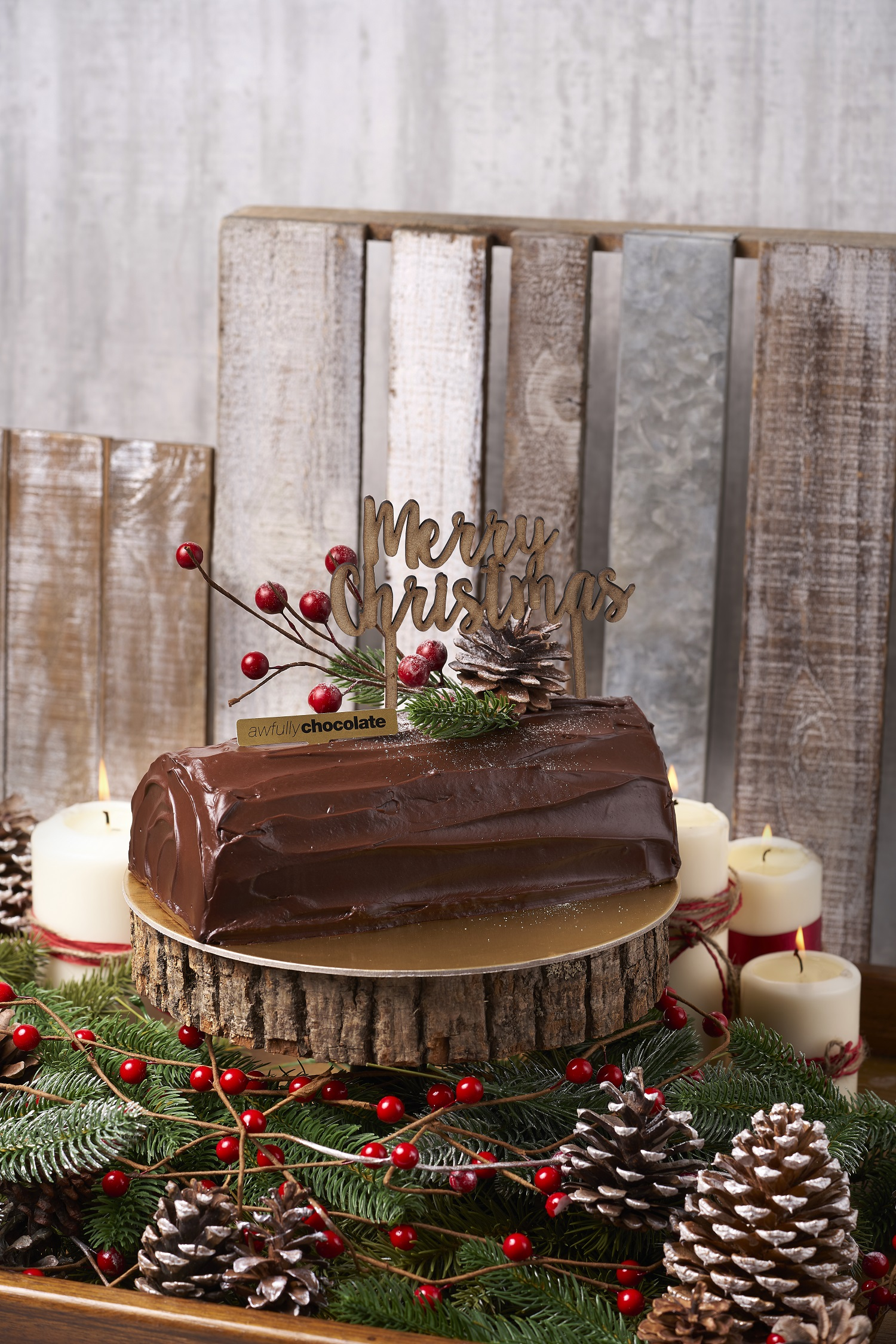 Christmas Cakes Hampers Awfully Chocolate